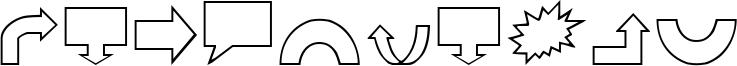 VariShapes Font