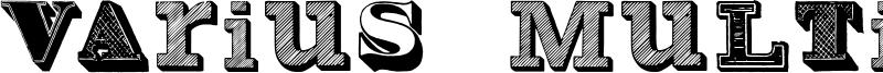 Varius Multiplex Font