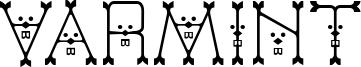 Varmint Font