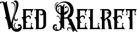 Ved Relret Font