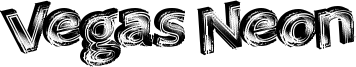Vegas Neon Font