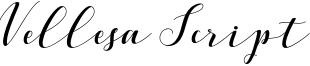 Vellesa Script Font