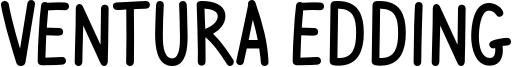 Ventura Edding Font