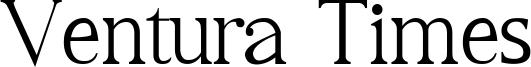 Ventura Times Font