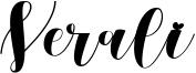 Verali Font