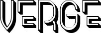 Verge Font