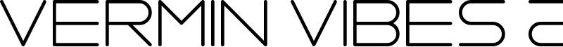 Vermin Vibes 2 Nightclub Font