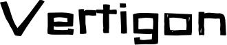 Vertigon Font