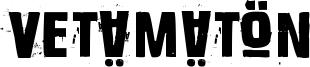Vetämätön Font