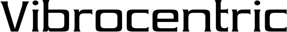 Vibrocentric Font