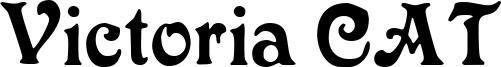 Victoria CAT Font