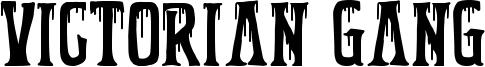 Victorian Gang Font