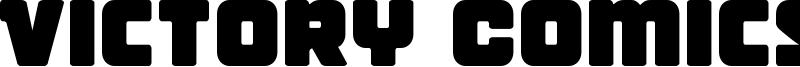 Victory Comics Font