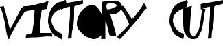 Victory Cut Font