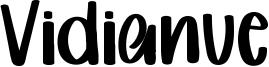 Vidianue Font