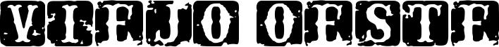 Viejo Oeste Font