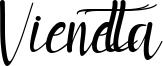 Vienetta Font