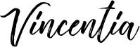 Vincentia Font