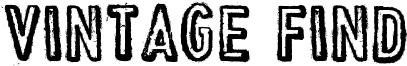 Vintage Find Font