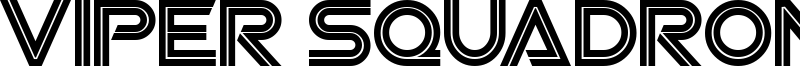 Viper Squadron Font