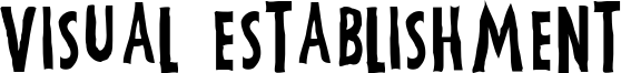 Visual Establishment Font