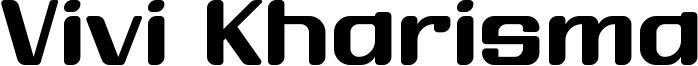 Vivi Kharisma Font