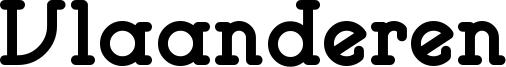 Vlaanderen Font