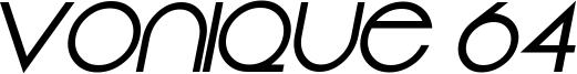 Vonique 64 Bold Italic.ttf