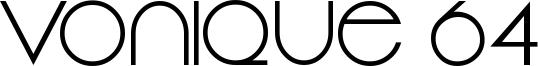 Vonique 64 Font