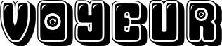 Voyeur Font