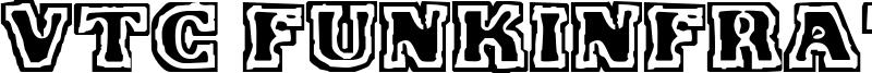 VTC FunkinFrat Font