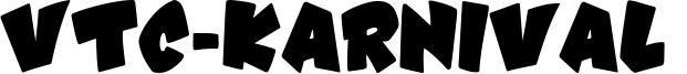 VTC-Karnival  Font