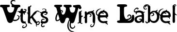 Vtks Wine Label Two.ttf