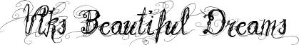 Vtks Beautiful Dreams Font