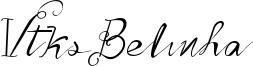 Vtks Belinha Font