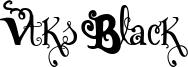 Vtks Black Font