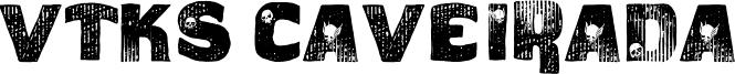 VTKS Caveirada Font