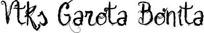 Vtks Garota Bonita Font
