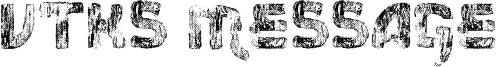 Vtks Message Font