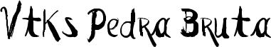 Vtks Pedra Bruta Font