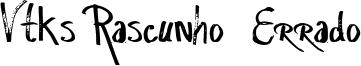 Vtks Rascunho  Errado Font