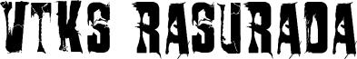 VTKS Rasurada Font