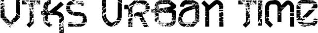 VTKS Urban Time Font