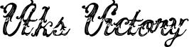 Vtks Victory Font