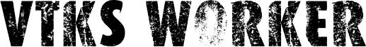 VTKS Worker Font