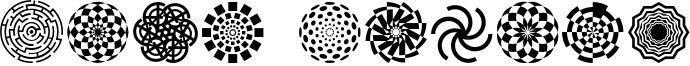 Wach-Op-art-symbols.otf