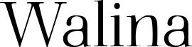 Walina Font