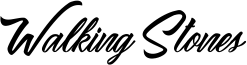 Walking Stones Font
