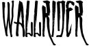 Wallrider Font