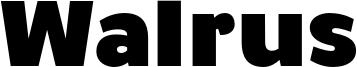 Walrus Font